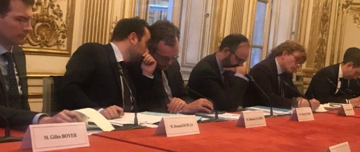 Grand débat national: Philippe FOLLIOT participe à la première réunion du Comité de suivi à Matignon