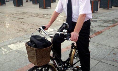 Plan vélo : port du casque conseillé, mais pas obligatoire