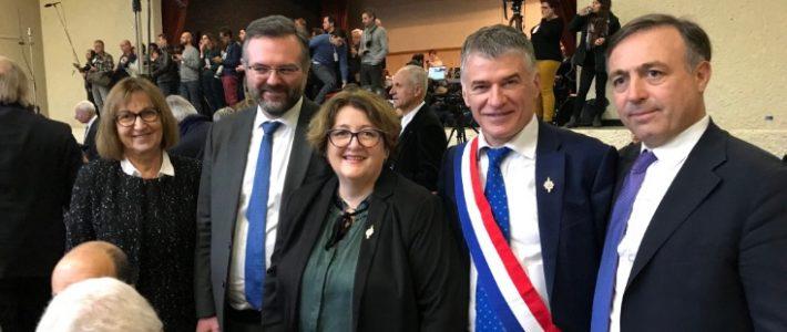 Les élus locaux du Tarn à Souillac pour échanger avec le Président de la République