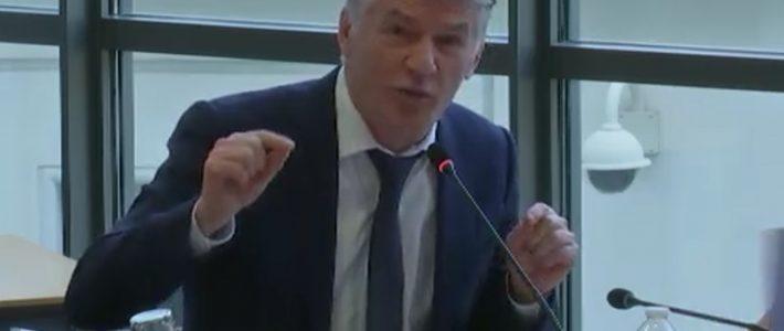 Commission défense: Philippe FOLLIOT interroge le Directeur général de l'Agence Française de Développement