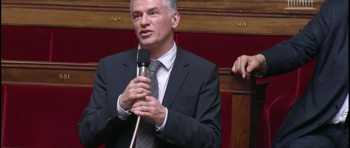 Philippe FOLLIOT en séance de nuit dans le cadre du projet de loi pour une école de la confiance