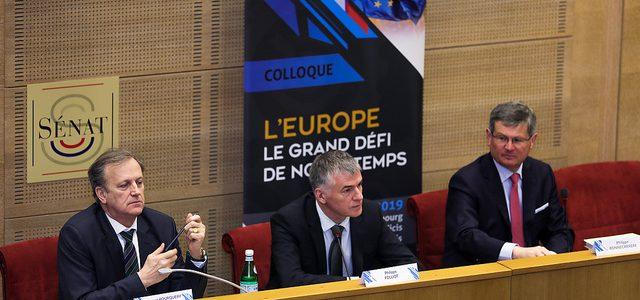Colloque : l'Europe, le grand défi de notre temps