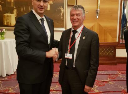 Philippe FOLLIOT en déplacement à Zagreb dans le cadre de l'Assemblée parlementaire de l'OTAN