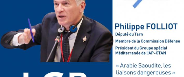 Philippe FOLLIOT débat sur LCP sur l'Arabie Saoudite