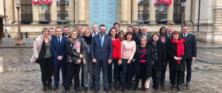 Le groupe Occitanie Avenir échange avec le Président du CESER Occitanie Jean-Louis CHAUZY