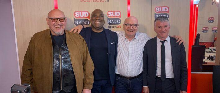 Philippe FOLLIOT en direct sur Sud Radio dans l'émission  «Les vraies voix – seul contre tour»