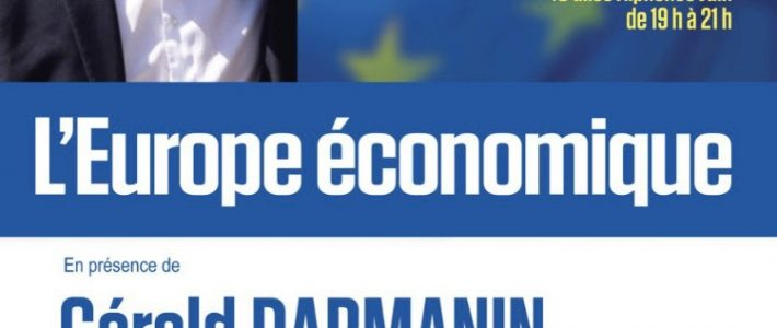 Gérald DARMANIN, Ministre de l'Action et des Comptes publics, en campagne à Castres