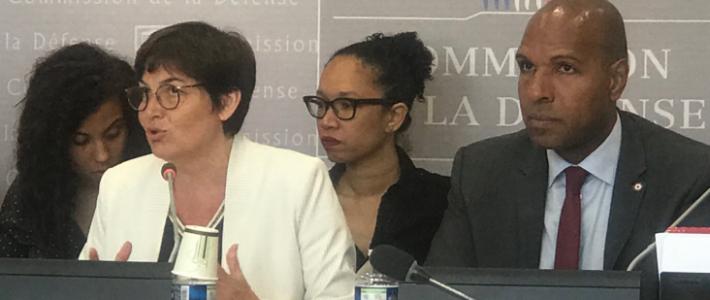 Philippe FOLLIOT défend les îles Éparses devant la Ministre des Outre-mer