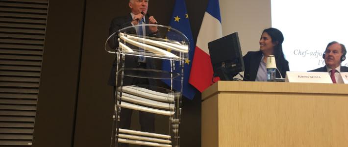 Philippe FOLLIOT participe au Forum parlementaire sur la sécurité et le renseignement