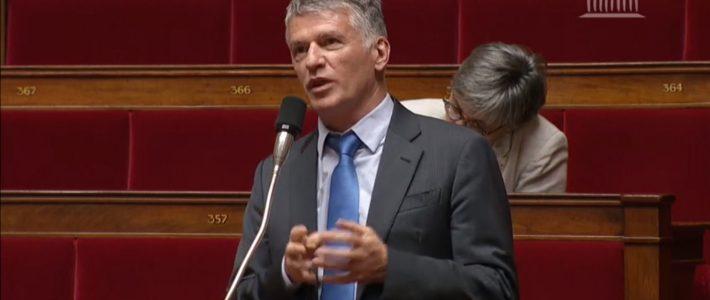 Philippe FOLLIOT s'exprime sur la proposition de loi relative au rattrapage et au développement de Mayotte