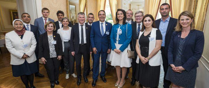 Le Groupe d'amitié France-Egypte présidé par Philippe FOLLIOT reçoit une délégation égyptienne à Paris