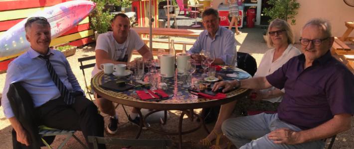 Rencontre avec les maires du secteur de Vabre