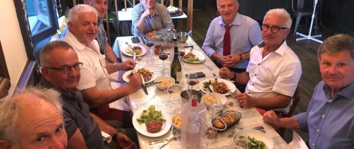 Philippe FOLLIOT et Philippe BONNECARRERE échangent avec les maires des anciens cantons de Brassac et Anglès