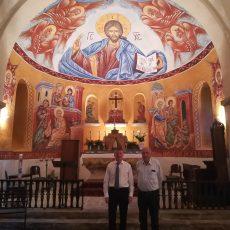 Philippe FOLLIOT visite l'église et le presbytère de Tastavy