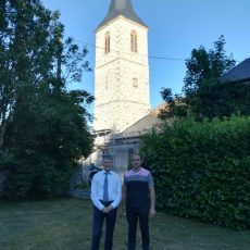 Philippe FOLLIOT auprès des élus de l'ancien canton de Murat-sur-Vèbre