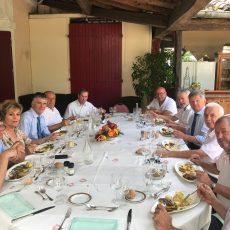 Dixième repas de travail avec les maires de la circonscription