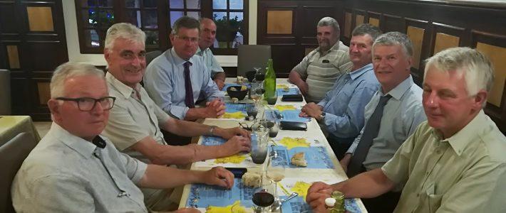 Nouveau diner de travail parlementaire avec les maires des monts d'Alban