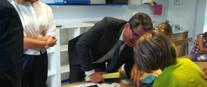 Rentrée des classes pour la députée suppléante de Philippe FOLLIOT