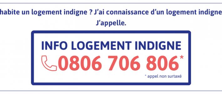 0806 706 806 : lancement du numéro « info logement indigne »