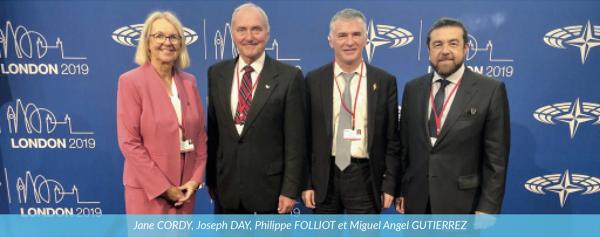 Philippe FOLLIOT élu Président du Groupe «Alliance des démocrates et libéraux» de l'AP-OTAN