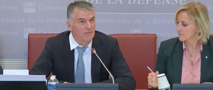 Philippe FOLLIOT présente le projet de loi autorisant la ratification du protocole au traité de l'Atlantique nord sur l'accession de la République de Macédoine du Nord