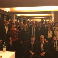 L'Amicale Parlementaire de Rugby reçoit Jacques BRUNEL et Sébastien BRUNO à l'Assemblée nationale