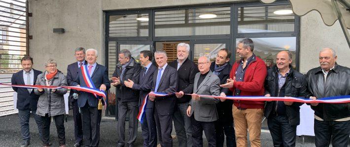 Inauguration de salle des sports de La Balme à Lacaune