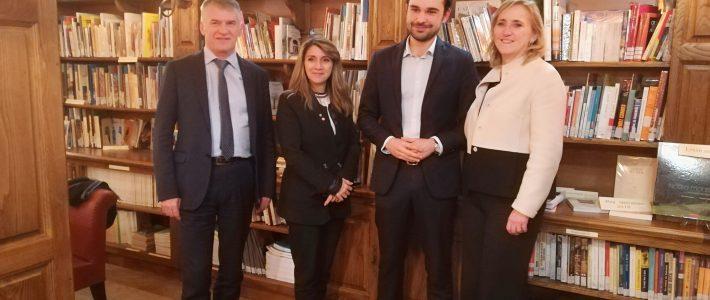 La Présidente et la Vice-Présidente de la Commission défense en visite dans la 1e circonscription du Tarn