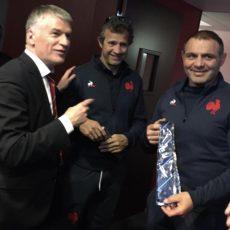 Nouvelle loi sur le Sport : l'Amicale Parlementaire de Rugby se déplace à Marcoussis