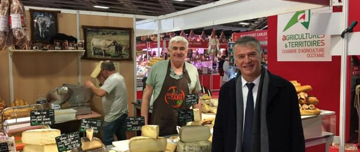 Philippe FOLLIOT au Salon International de l'Agriculture 2020