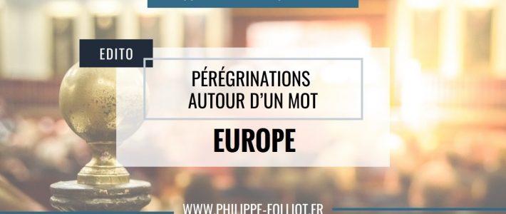 Pérégrinations autour d'un mot : EUROPE