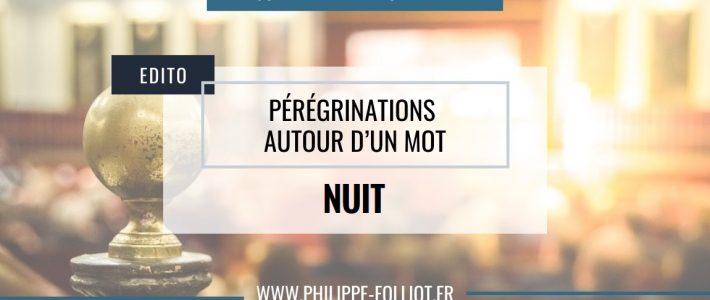 Pérégrinations autour d'un mot : NUIT