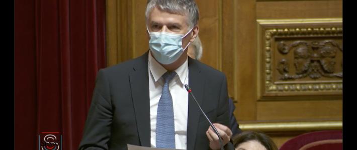 Le sénateur Philippe Folliot met avant «lo biaïs» (le bon sens paysan) durant le débat sur l'état d'urgence sanitaire