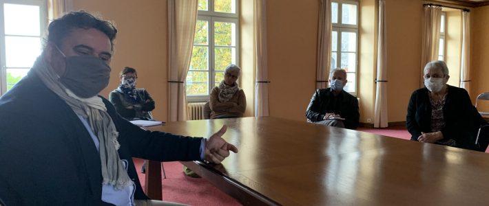 Labruguière, Rencontre avec le sénateur Philippe Folliot sur la démographie médicale