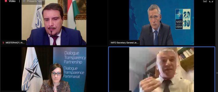 Philippe Folliot interroge le secrétaire général de l'OTAN sur le budget défense des Etats membres de l'organisation face à la crise
