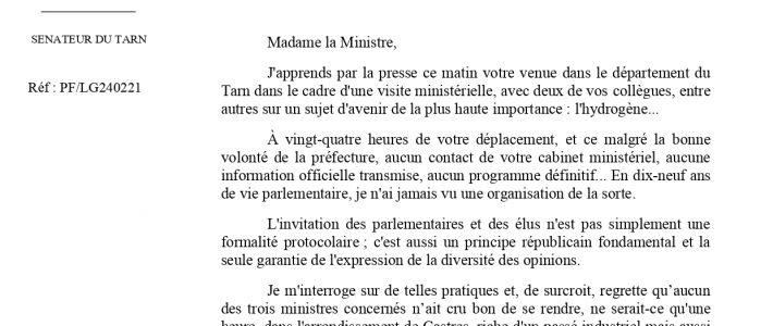 Trois ministres dans le Tarn, pas de rencontre pour les élus et les parlementaires