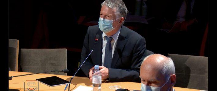 Le sénateur interroge la Ministre des Armées Florence Parly