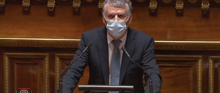 Philippe Folliot intervient en séance publique lors du débat sur l'avenir du sport