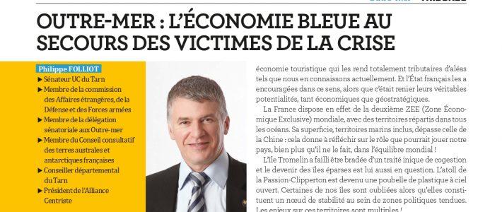 Tribune de Philippe Folliot – «Outre-mer : l'économie bleue au secours des victimes de la crise