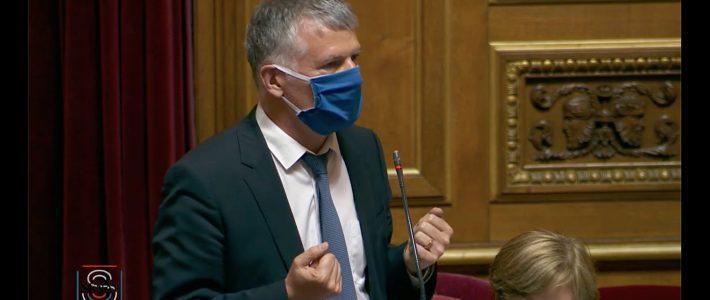 Philippe Folliot vote contre le nouveau règlement du Sénat