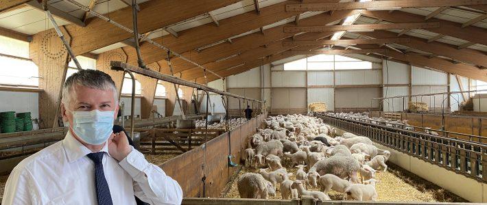 Réunion avec la Fédération départementale ovine du Tarn
