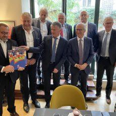 Amicale Parlementaire de Rugby : rencontre avec Monsieur Claude Atcher, Président de la LNR